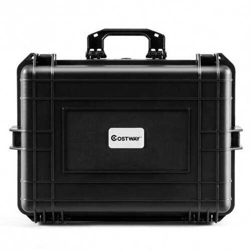 Weatherproof Shockproof Camera Lens Box with Customizable Foam