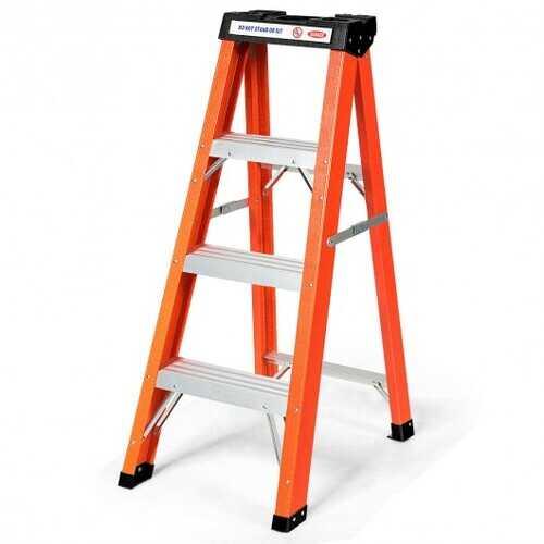3-Step Ladder Folding Step Stool Platform