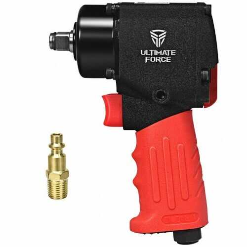 "1/2"" Mini Air Impact Wrench Pneumatic Driver with Hammers"