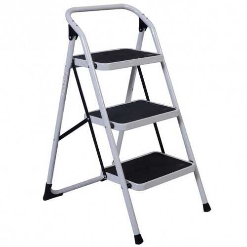 HD 3 Step Ladder Platform Lightweight Folding Stool