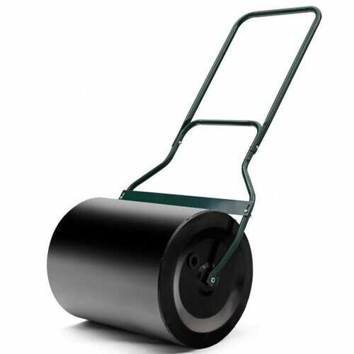 Heavy Duty Push Tow Lawn Roller Metal Roller