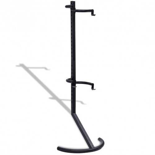 Freestanding Gravity Bike Stand Rack for Two Bicycles