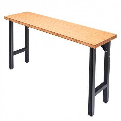 """65"""" Bamboo Modular Workbench Table"""