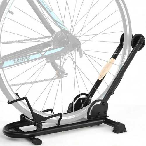 "Foldable Bike Floor Parking Rack Home Garage Storage Stand Fit 20""-29"""