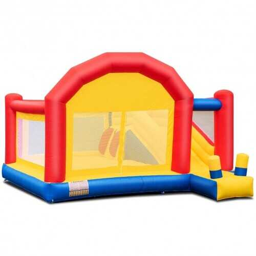 Inflatable Bounce House Slide Bouncer Castle without Blower