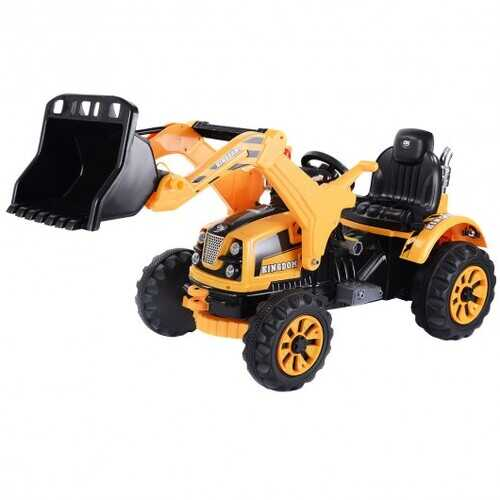 12 V Battery Powered Kids Ride on Dumper Truck