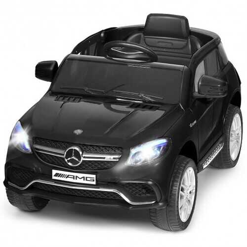 12V Mercedes Benz GLE Licensed Kids Ride On Car -Black
