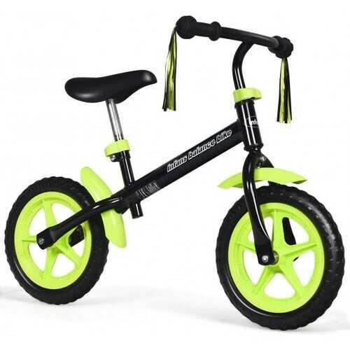 Adjustable Lightweight Kids Balance Bike-Green