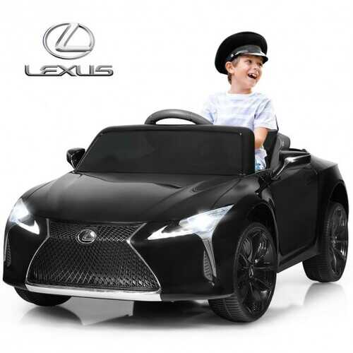 Kids Ride Lexus LC500 Licensed Remote Control Electric Vehicle-Red