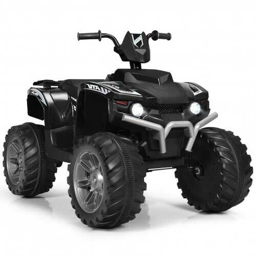 12V Kids 4-Wheeler ATV Quad Ride On Car -Black