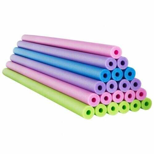 24 Pack 55 Inch Multipurpose Foam Pool Swim Noodles