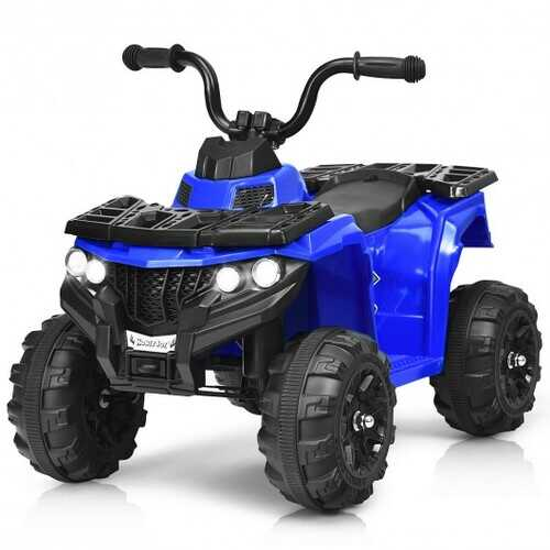 6V Battery Powered Kids Electric Ride on ATV-Blue