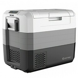 Category: Dropship Coolers, SKU #EP24449US, Title: 70 Quart Portable Electric Car Camping Cooler