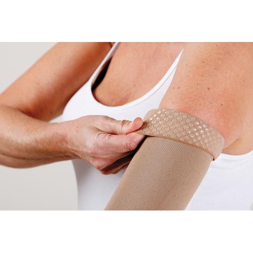Jobst Armsleeve w/Silicone Band 20-30 Small Beige