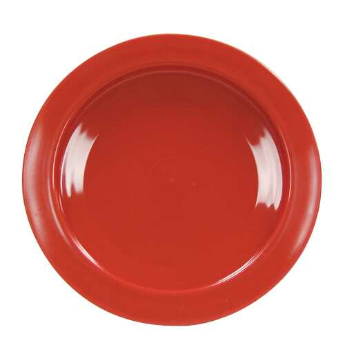 Plate  Inner-Lip Red