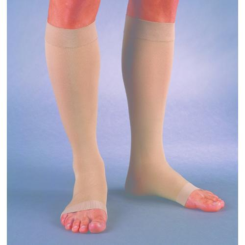 Jobst Relief 20-30 Knee-Hi OT Beige Large Full Calf (pair)