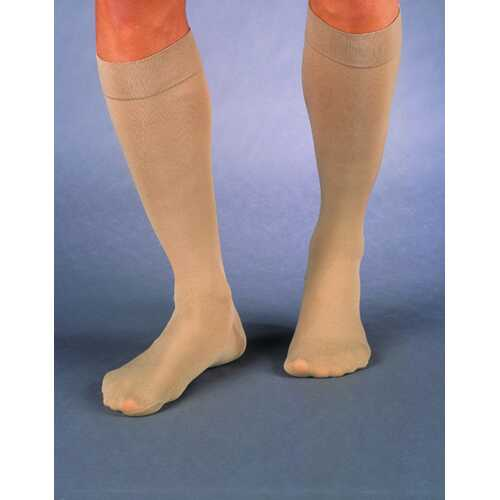 Jobst Relief 20-30 Knee-Hi Black Large  C/T