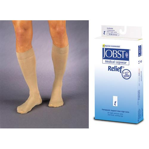 Jobst Relief K/H CT 15-20 mmHg Beige  Large