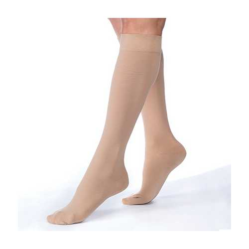 Jobst Relief 15-20 Knee-Hi Beige Large Full Calf C/T