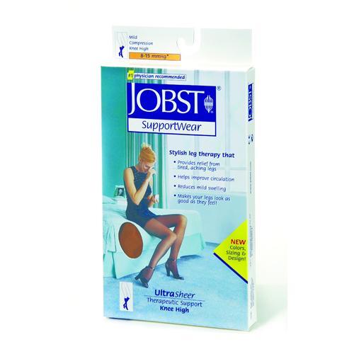 Jobst Pantyhose Ultrasheer 8-15 mmHg Silky Beige Large