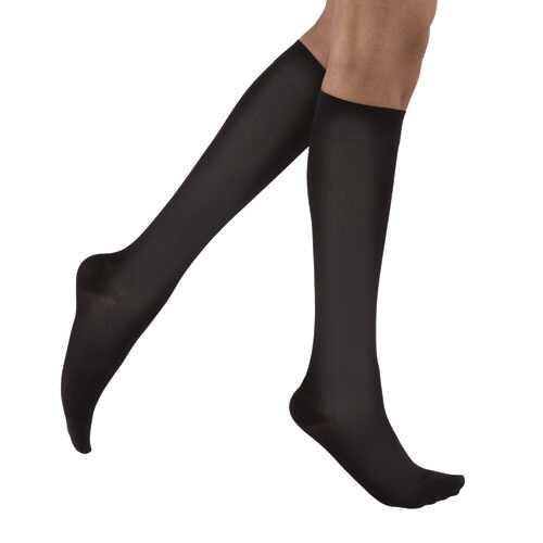 Jobst soSoft Socks KneeHigh 15-20 mmHg Black Medium 1/pair