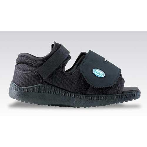 Darco Med-Surg Shoe Black Square-Toe Men's Medium