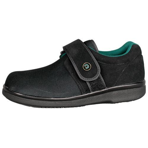 Gentle Step Diabetic Shoe W-13›  M-12  Wide  Black  pr