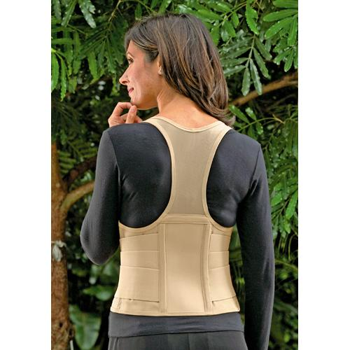 Cincher Female Back Support X-Large Tan