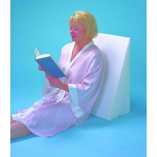 Foam Slant 10  Cover Only White