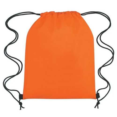 Drawstring Bag  Orange