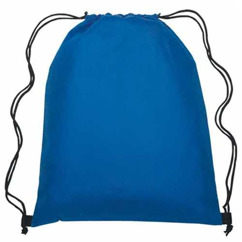 Drawstring Bag  Royal Blue