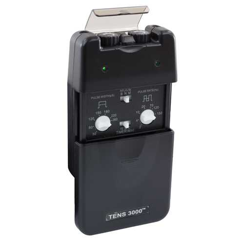 Tens Unit  Dual Channel 3 Mode w/Timer