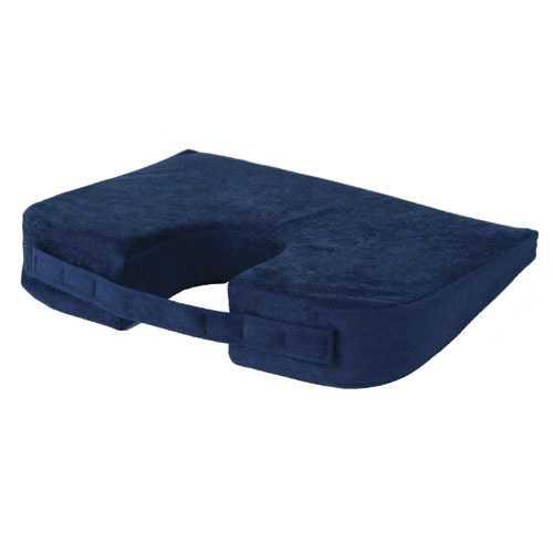 Coccyx Car Cushion Navy by Alex Orthopedic 16  x 13  x 3