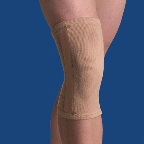 Elastic Knee Stabilizer  Beige Large 15  - 16.5