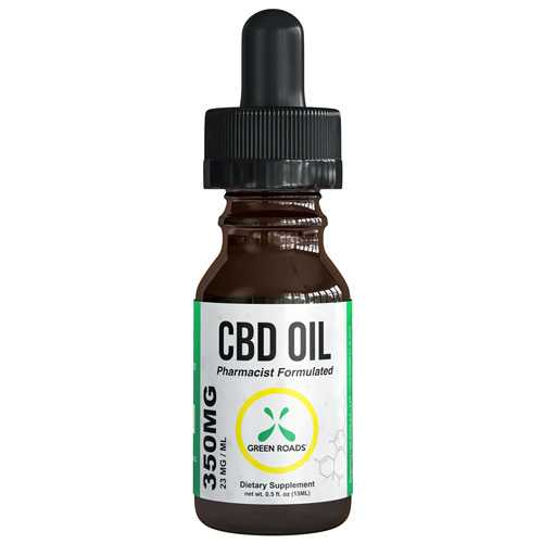 CBD Oil 350 mg  Size 15 ml by Green Roads