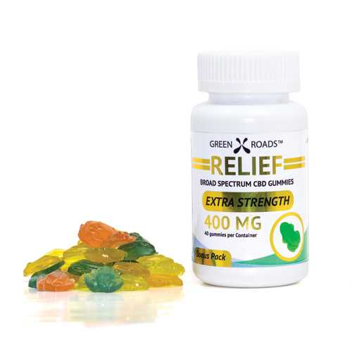 CBD Edibles Gummies 400mg (40 ct)