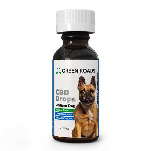 CBD Medium Dog Formula 210mg 30 ml Size  (each)
