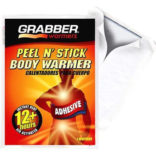 Adhesive Peel-n-Stick Heat Body Warmer 3.5  x 5  (Each)