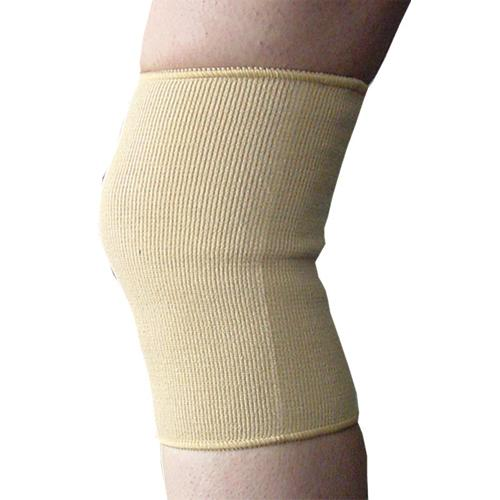 Elastic Knee Support  Beige Large  18 -20