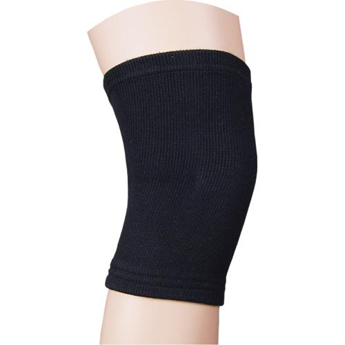 Elastic Knee Support Black Large  16 -18