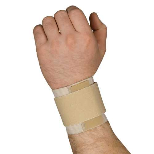 Blue Jay Universal Wrist Wrap Beige