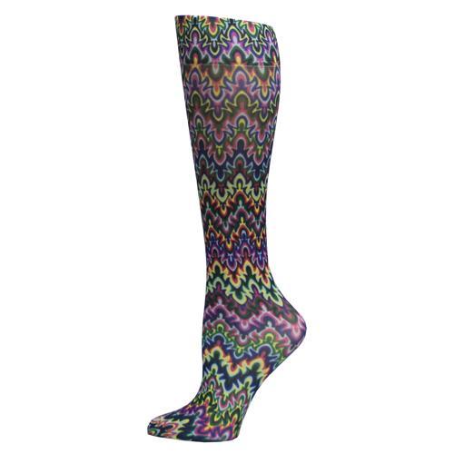 Blue Jay Fashion Socks (pr) Blue Fleur Missoni 8-15mmHg