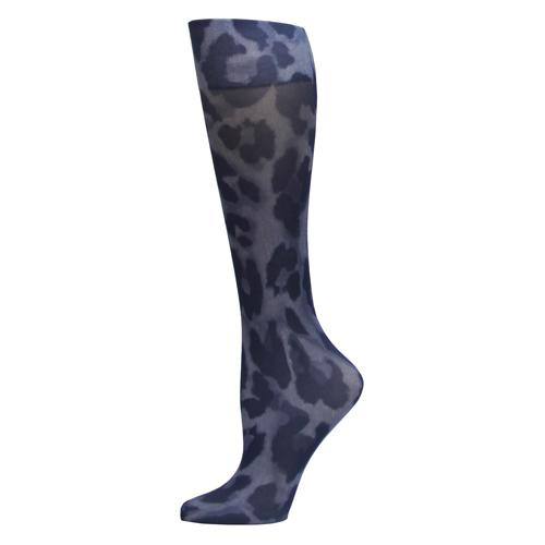 Blue Jay Fashion Socks (pr) Cougar Denim 8-15mmHg