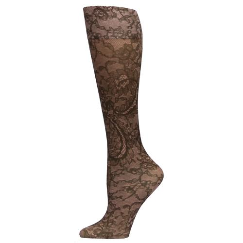 Blue Jay Fashion Socks (pr) Katie's Lace 8-15mmHg