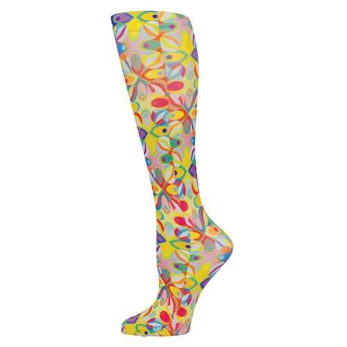 Blue Jay Fashion Socks (pr) Abstract Colors 8-15mmHg