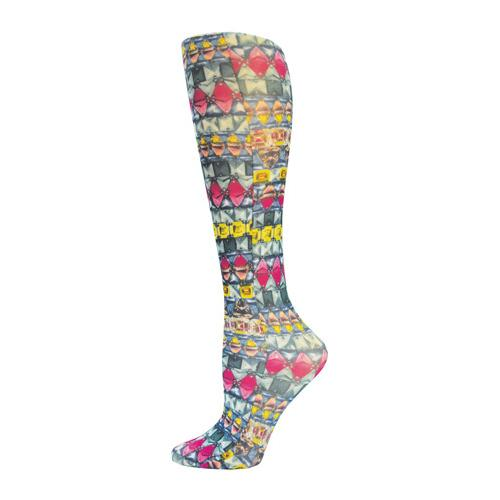 Blue Jay Fashion Socks (pr) Emerald Dazzle 15-20mmHg