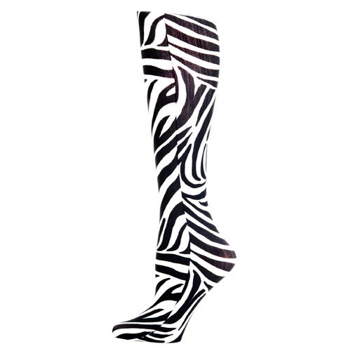 Blue Jay Fashion Socks (pr) Zebra 15-20mmHg