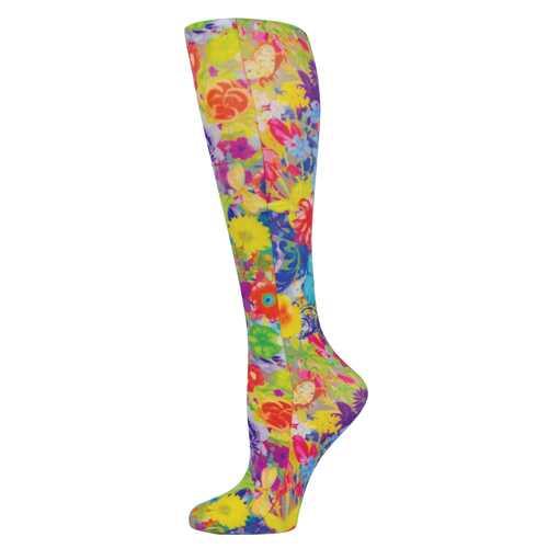 Blue Jay Fashion Socks (pr) Bouquet 15-20mmHg