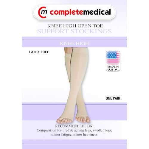 X-Frm Surg Weight Stkngs Large 30-40mmHg  Below Knee Open Toe