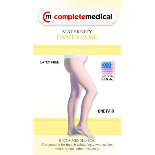 Firm Surg Wgt Maternity Panty Hose  20-30mmHg  Medium  CT